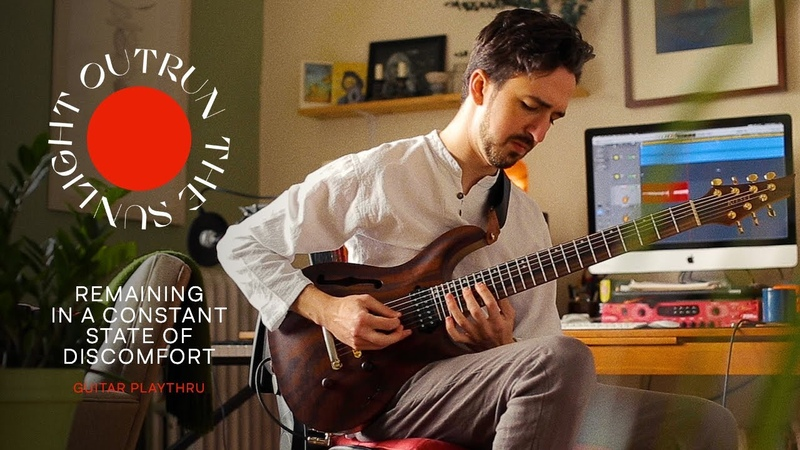 Outrun the Sunlight Remaining in a Constant State of Discomfort Guitar Playthru