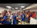 Раздевалка ФК «Оренбург» после выхода в Премьер-Лигу