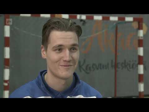 Futsalin tulevaisuuden tähdet Kasper Kangas ja Justus Kunnas