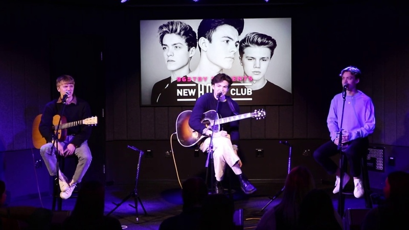 New Hope Club She Loves You Let Me Down Slow with Q A Acoustic TDY EXCLUSIVE
