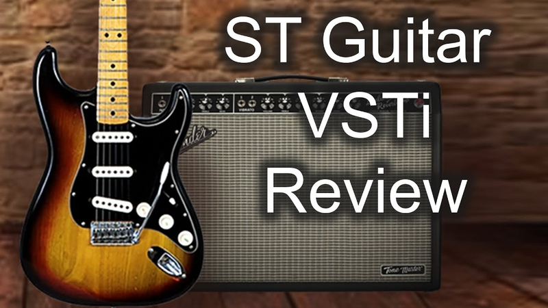 ST Guitar VSTi walkthrough new sample library for Kontakt 5 and 6