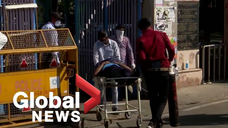 India's daily COVID 19 cases hit new world record as country faces oxygen shortages