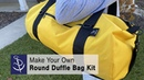 DIY Duffle Bag - Round Duffle Bag Kit