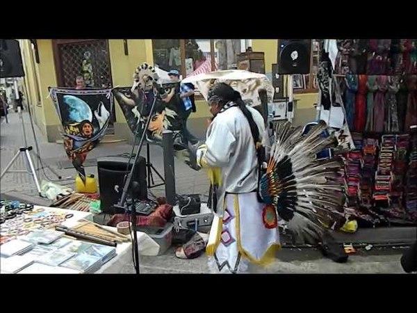 Štúrovo indiánski hudobníci na Jarmoku Šimona Júdu 2013