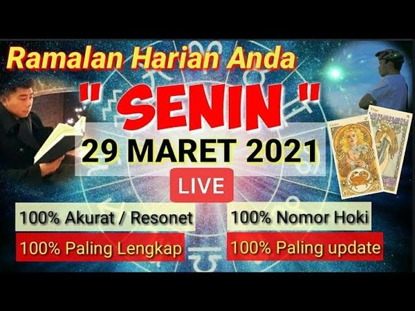 RAMALAN ZODIAK HARI INI SENIN 29 MARET 2021 LENGKAP AKURAT🌏