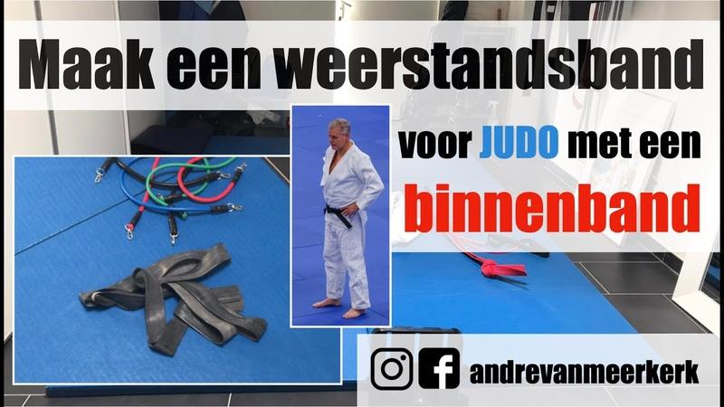 Een weerstandsband voor judo maken