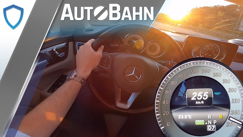 AutoBahn - Mercedes CLS 500 Shooting Brake - POV   100-200 kmh   Vmax