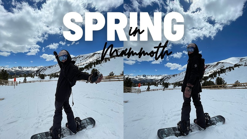Mammoth is STILL OPEN Spring Snowboarding at Mammoth Mountain