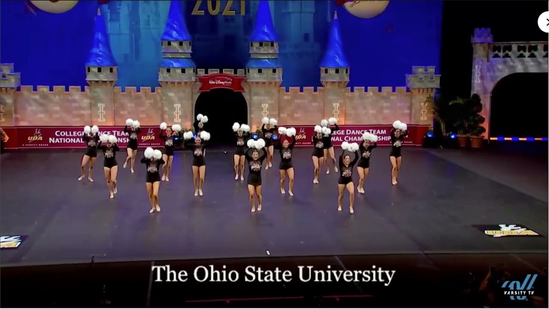 The Ohio State Pom Routine Finals Performance UDA Nationals