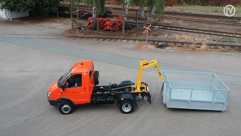 GAZ Gazelle 4x4 - nosič kontejnerov