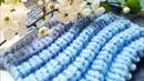 Вяжем классную волнистую гофру спицами 🙋♀️ knitting pattern.