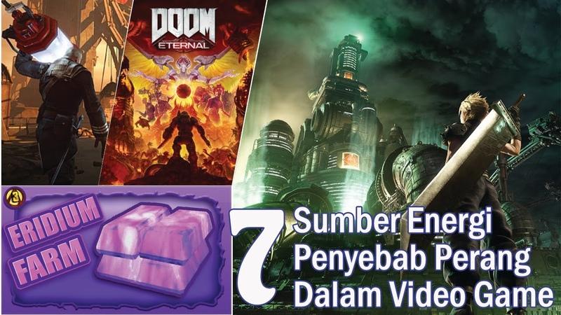 7 Sumber Energi Penyebab Perang Dalam Video Game