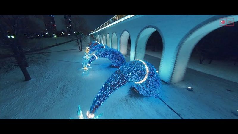 Ростокинский акведук новый год 2021   Cinematic fpv footage