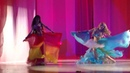 студия восточного танца Анчарэ - Огонь и Вода танец с веерами-вейлами