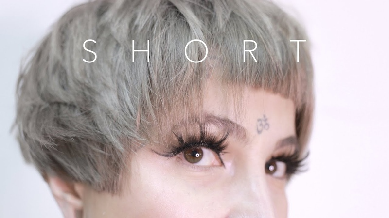 ✂️ how to Ultra Short Bob with Baby Bangs and Shaved Nape