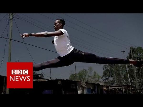 Dancing in the slums Kenya's rising ballet star BBC News