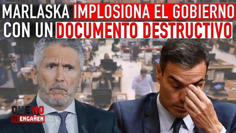 ¡MARLASKA COMETE LA MAYOR PIFIA DEL GOBIERNO Y CAUSA UNA CRISIS INTERNA ENTRE LOS MINISTROS