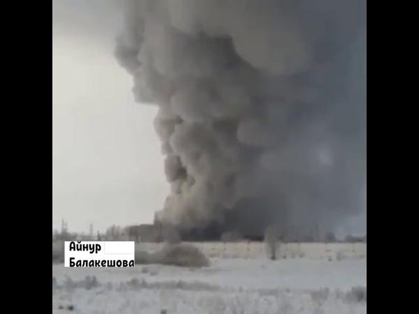 Взрыв на ГРЭС Топар взорвался паровой трубы. Погиб человек, пострадали рабочие