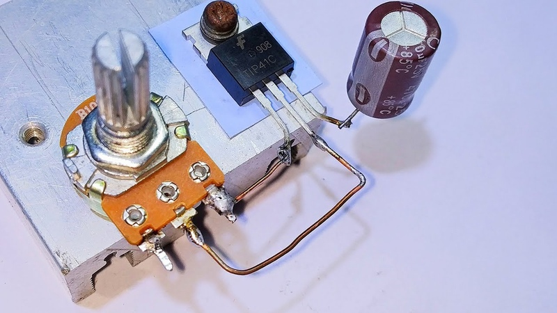 How To Make Mini Amplifier Using Only One Transistor    Cheap Amplifier