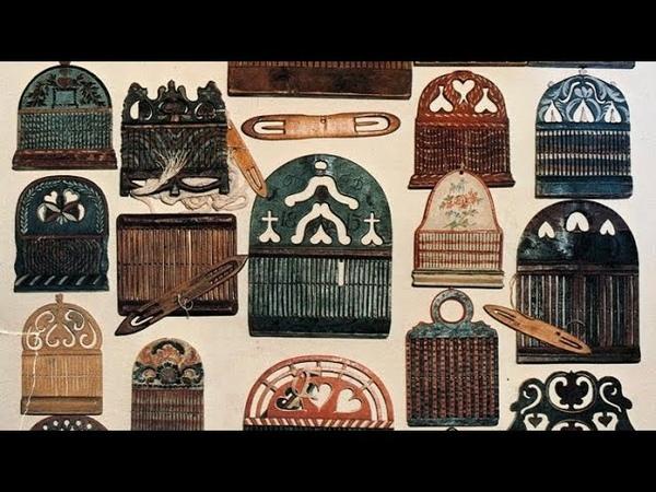 Традиционные ремёсла Изготовление браного пояса Занятие 3 Заправка нитей в бердо