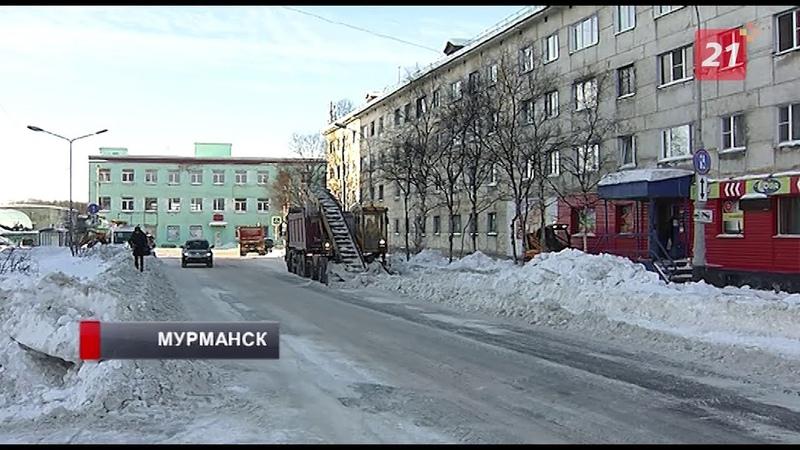 Природоохранная прокуратура завершила проверку снежных свалок в Мурманске