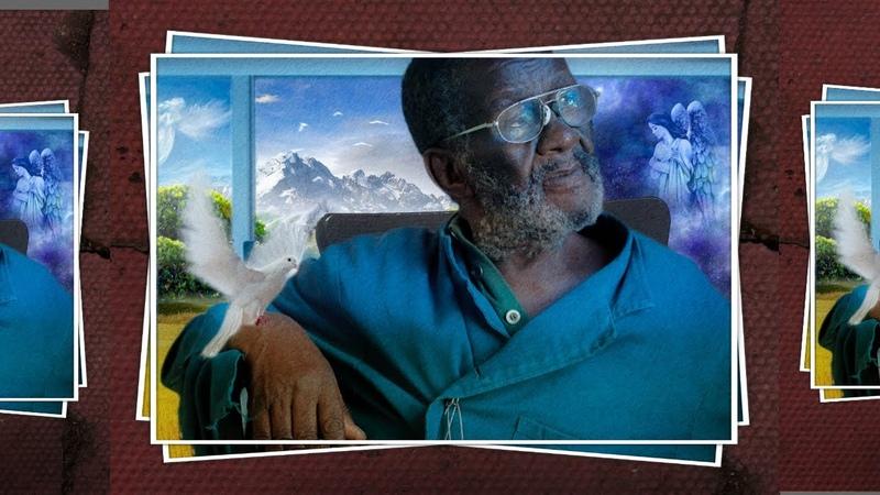 Vusamazulu Credo Mutwa Portrait | Photo Frame in Photoshop