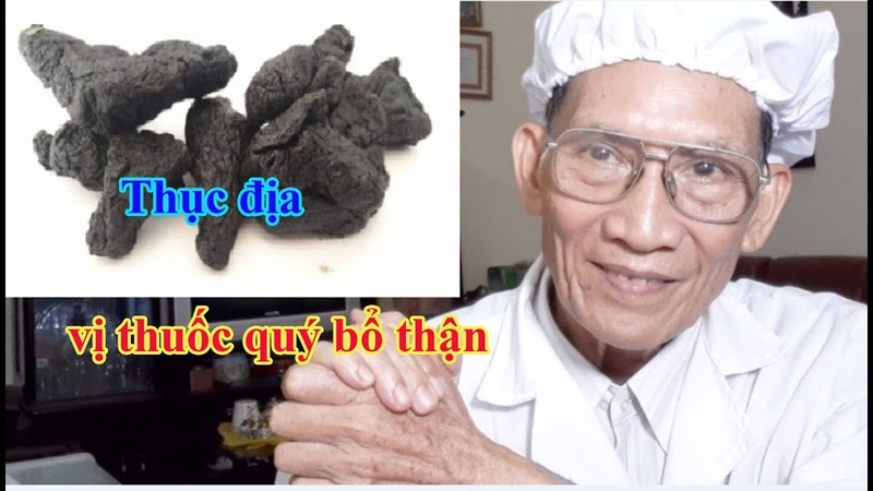 Thục địa vị thuốc quý bổ thận l Nguyen Thieu Official