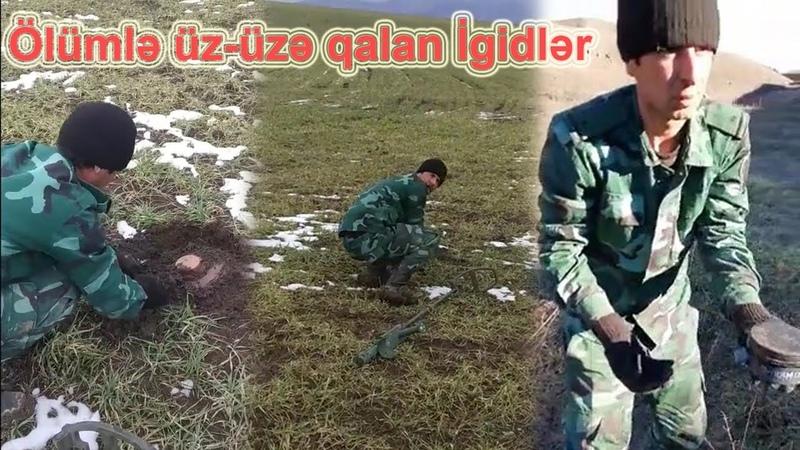 Ölümlə üz-üzə qalan İgidlər...