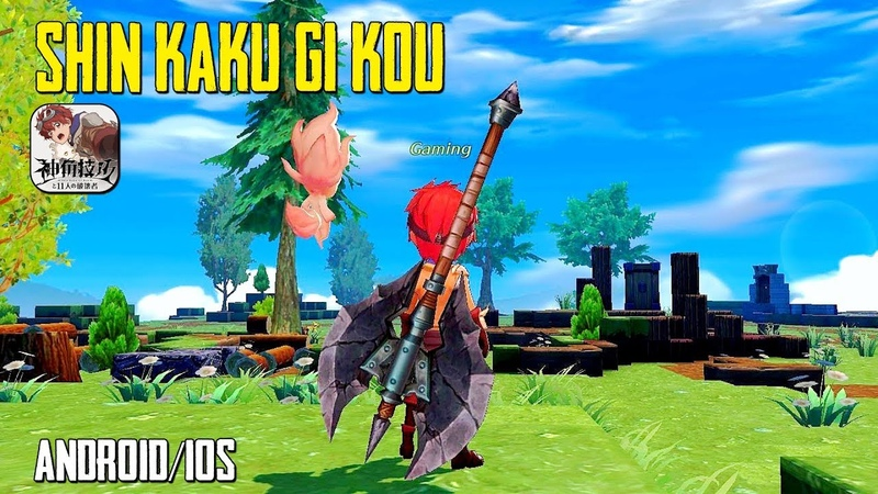 Android IOS Shin Kaku Gi Kou by Square Enix Beta Gameplay