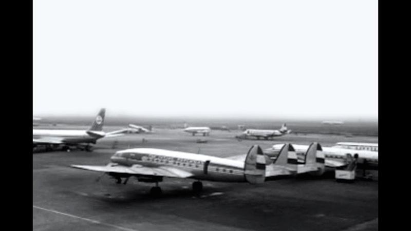 Amsterdam Schiphol International Airport 1960 1971