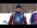 В Барнауле прошли гонки на льду на мотоциклах