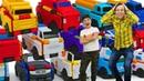 Transcar Double машинки трансформеры - Игрушки авто вывернушки - Играй в гонки для мальчиков