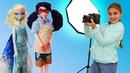 Мультики для девочек - БАРБИ стала фотографом - Играем в куклы