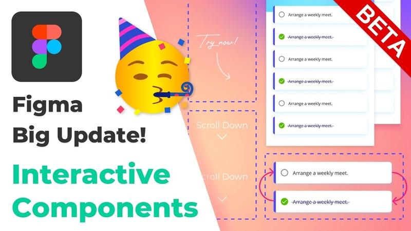 Figma BIG Update Interactive Components Beta Playground