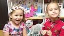 Алина и Юляшка играют в куклы Как весело провести время Funny kids play