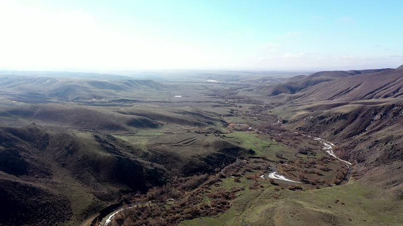 Долина река Бижа Наурыз 2021 год