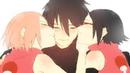 Саске и Сакура Сарада встретила Саске / AMV \ аниме клип воспоминание Naruto