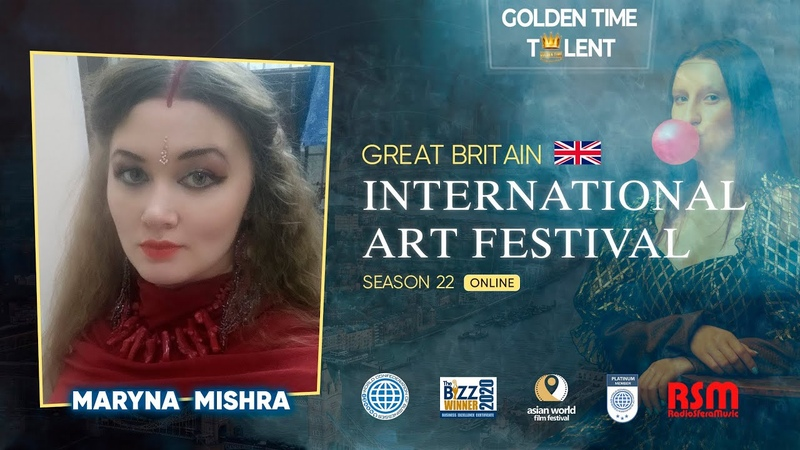 Golden Time Distant Festival 22 Season Maryna Mishra GT22 5827 5261