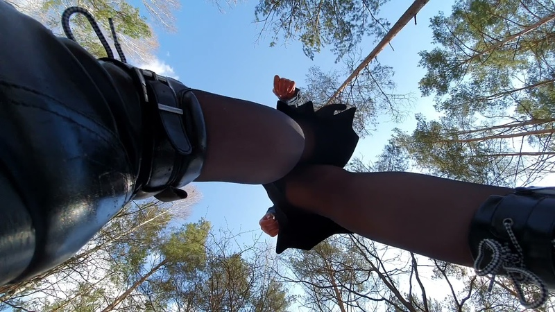 Giantess Trampling YOU With Winter Ankle High Heel Boots Part 2 PREVIEW