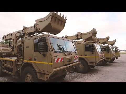 UDS 214 - Defence - MULTI-PURPOSE TELESCOPIC EXCAVATOR