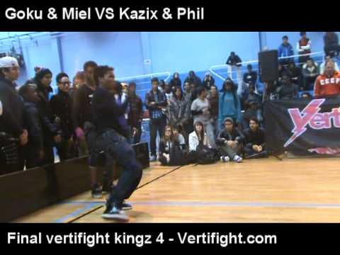 VERTIFIGHT KINGZ 4 Goku Miel vs Kazix Phil