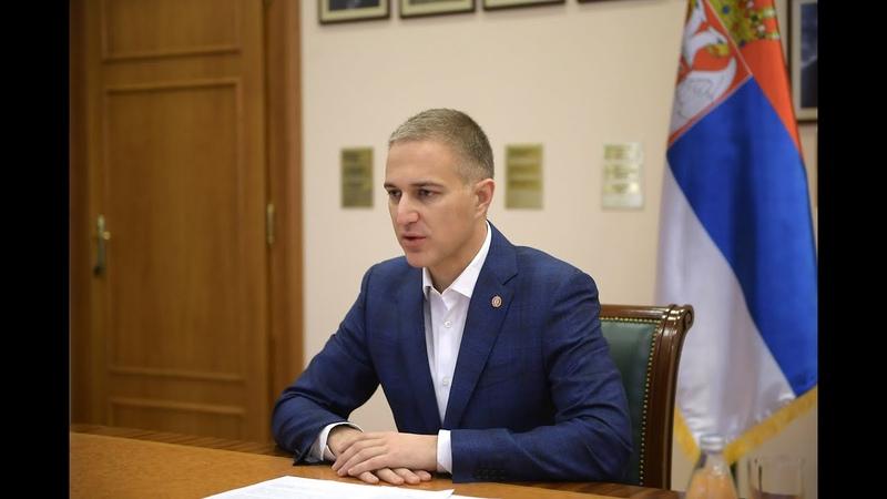 Стефановић Национална безбедност Србије у врху је државних интереса