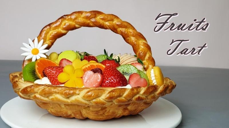 Eng Sub 과일 타르트 만들기 딸기 파이 만들기 바구니 타르트 The Lovely Fruit Tart Recipe Strawberry Compote Recipe