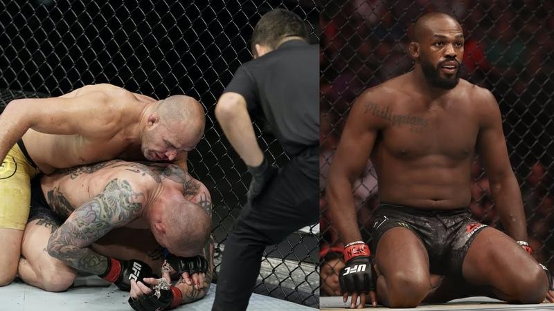Боец UFC вручил зубы рефери Джон Джонс о переходе в тяжи расходы UFC на тесты на коронавирус