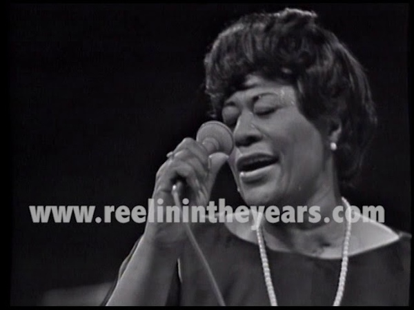 Ella Fitzgerald How High The Moon Epic scat LIVE 1966 RITY Archives