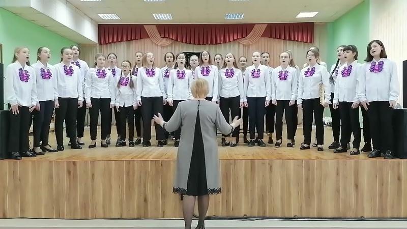 Хор Рунь, г.Барановичи, Беларусь (12-14 лет) - Вокальное творчество
