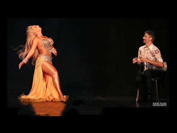 DIVA▪Darina in MEXICO 2019 Improvisation with Khader Ahmad