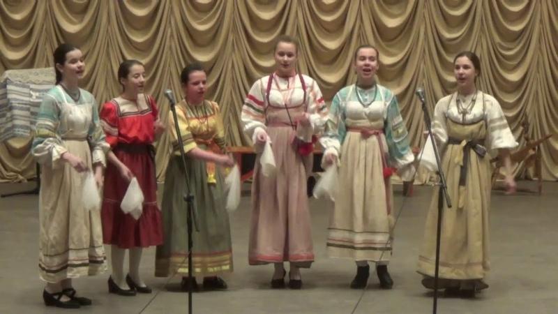 Ах, лужок, лужок хороводная песня Псковской области