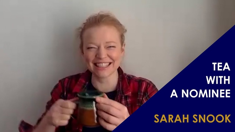 Sarah Snook Tea With An Emmy Nominee
