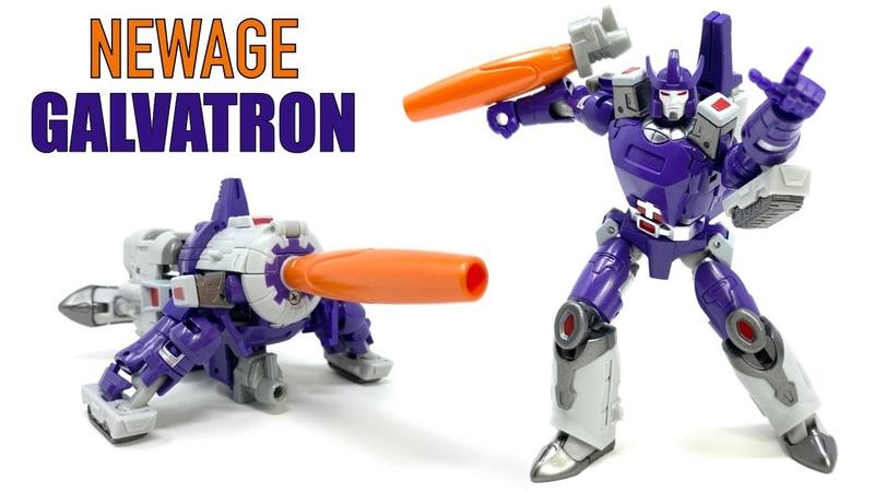NewAge H23 Destron Leader Darius Legends MP Galvatron Review